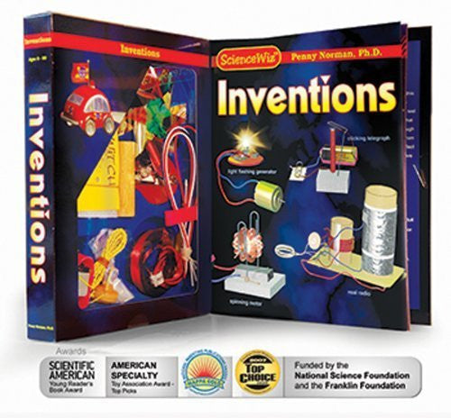 Science Wiz: Inventions - Experiment Kit; no. SCW7901
