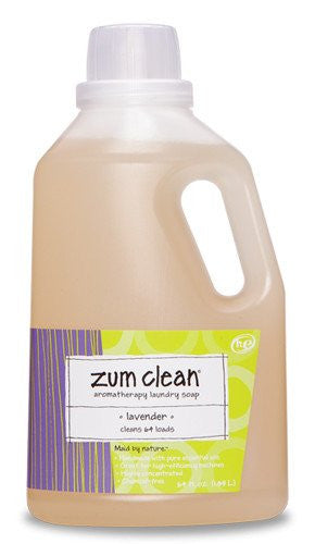 LAVENDER ZUM CLEAN LAUNDRY SOAP 64 oz