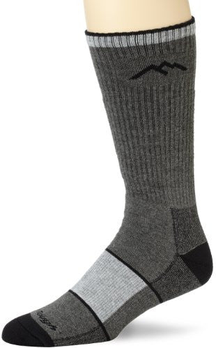 Men's Boot Sock Full Cushion (coolmax) - Charcoal S