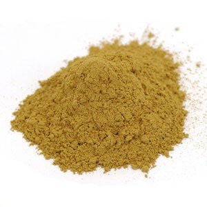 Buckthorn Bark Powder Wildcrafted - Rhamnus frangula, 1 lb