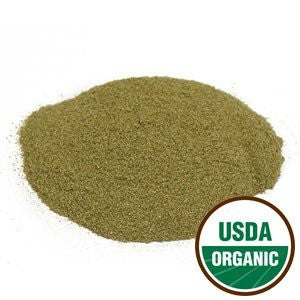 Bilberry Leaf Powder Organic - Vaccinium myrtillus, 1 lb