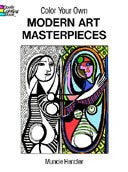 Color Your Own Modern Art Masterpieces Coloring Book