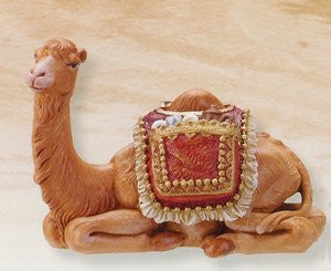 "2PC ST 5"" BABY CAMEL NTVTY FIG FONTANINI"
