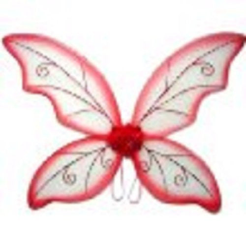 "Adult Wild Fairy Wing. Color: Red/Green/Purple/ Black. Size 34"" (fits kids and adults)"
