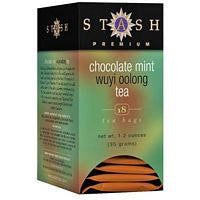 Wuyi Oolong Tea Chocolate Mint 18 Bags (Pack of 2)
