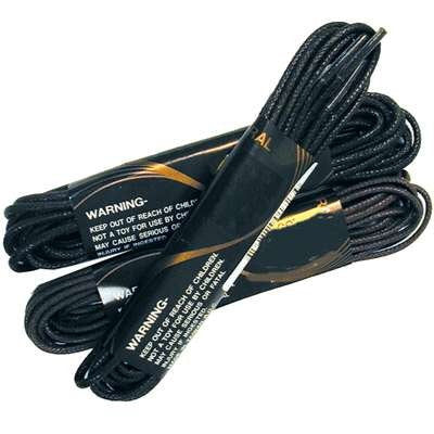 Boot Laces - Paddock - Black - 54""