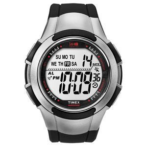 Men's 1440 Sports Digital Black/Silver Tone Watch
