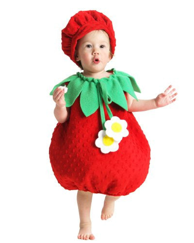 Princess Paradise - Strawberry Infant / Toddler Costume - XX-Small (18M-2T)