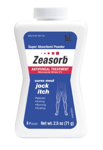 2.5 oz Zeasorb AF Powder (Jock Itch)