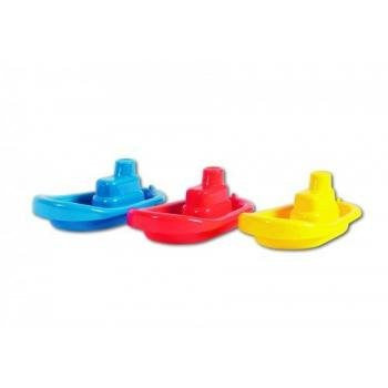 Stacking Boats (blue, red & yellow)