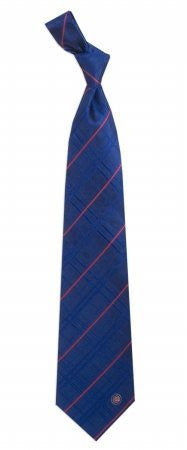 Chicago Cubs Tie Oxford Woven Silk