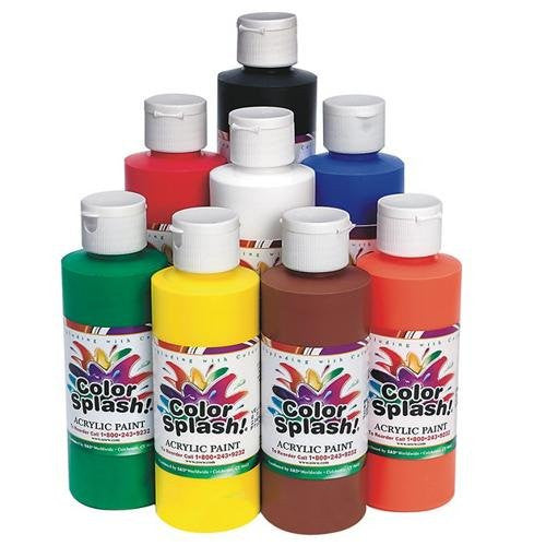 8-oz. Acrylic Paint (Set of 8)
