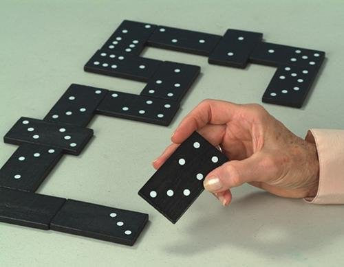 Jumbo Double Six Domino (Set of 28)