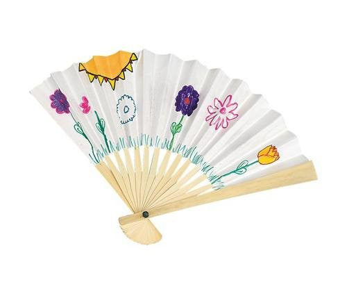 "Paper Fans, 6"" (Pack of 24)"
