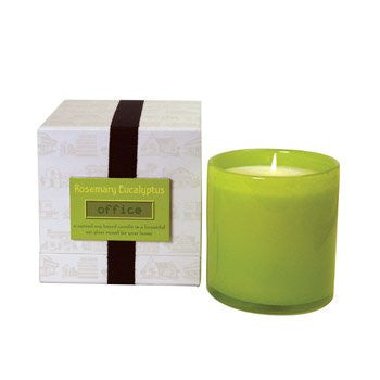 Rosemary Eucalyptus Candle - Office -  16 oz.