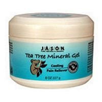 100% Tea Tree Oil Therapeutic Mineral Gel 8 Ounces ( Multi-Pack) (Package Quantity: 2)