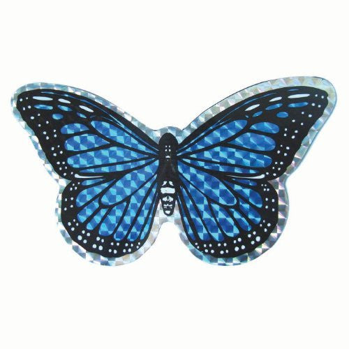 Small Blue Butterfly Door Screen Saver