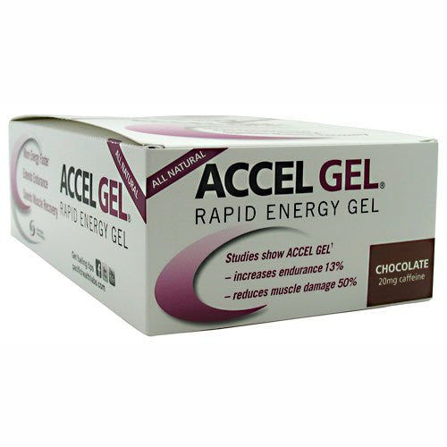 Accelerade - Accel Gel Chocolate, 24 packs
