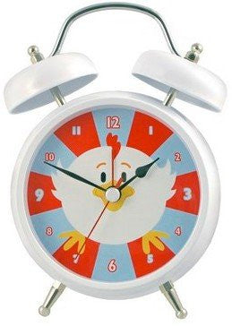 Streamline Rooster Talking Alarm Clock