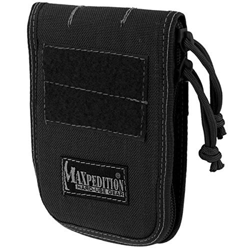 "3"" x 5"" Notebook Cover (Black)"