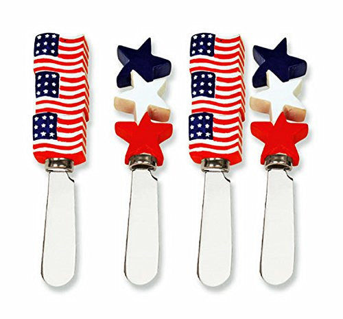 American Flags & Stars Spreader, set of 4