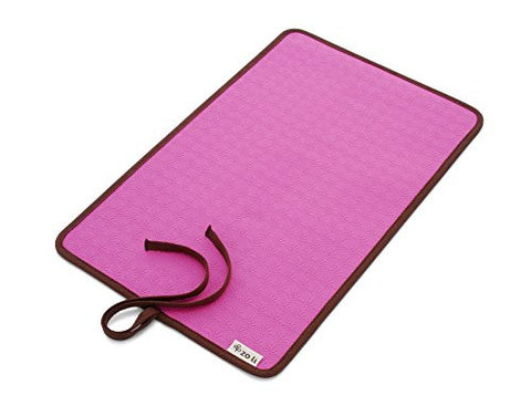 ZoLi Baby Ohm Diaper Changing Mat (Color: Pink)