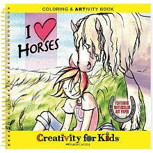 Coloring & ARTivity Books: I Love Horses