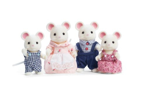 Calico Critters - Milky Mouse Family