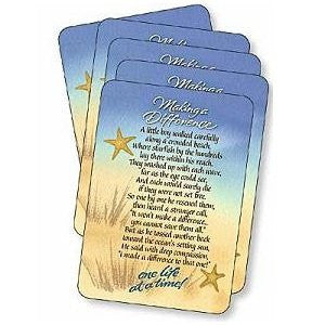 Making a Difference Prayer Cards