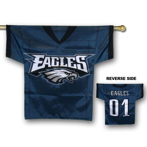 JERSEY HOUSE FLAGS - 2-SIDED - PHILADELPHIA EAGLES