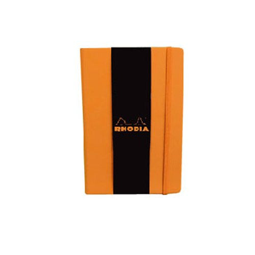 Rhodia Boutique Webnotebooks Bound 5 ½ x 8 ¼ Lined Orange 96 sheets
