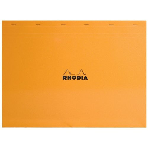 Rhodia Classic Notepads Top Staplebound 16 ½ x 12 ½ Graph Orange 80 sheets