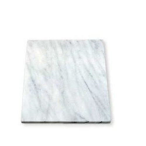 White Marble Pastry and Cutting Board - 11 x 11 inch