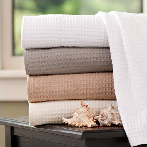 Classic Waffle Weave Hand Towel - Grey