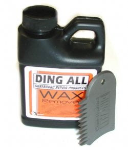 Ding All Wax Remover, 8 oz.
