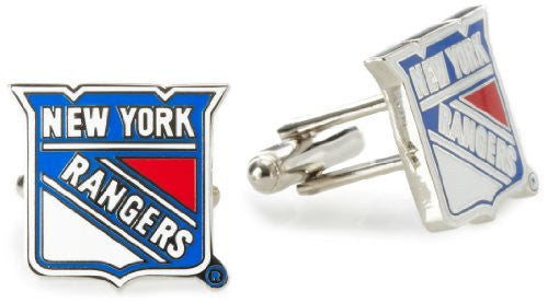 Cufflinks Inc Edmonton Oilers Cufflinks (Color: New York Rangers)
