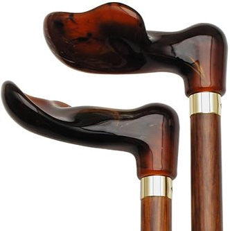 Right Hand Palm Grip Amber-Cherry
