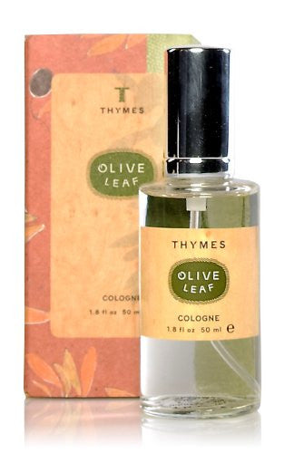 Thymes Cologne, Olive Leaf, 1.8-Ounce Bottle