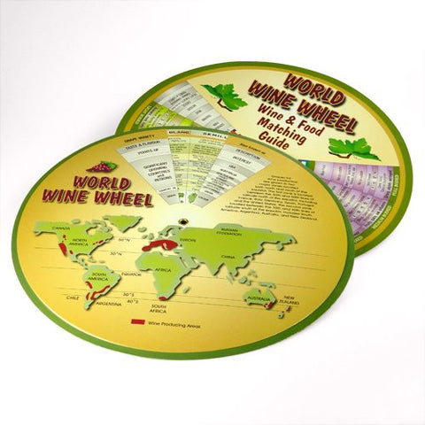World Wine Wheel and Food Guide Matching Guide