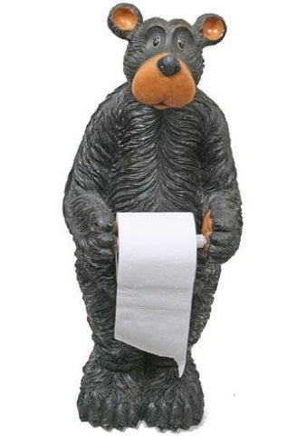 Willie Bear Floor Toilet Paper Holder