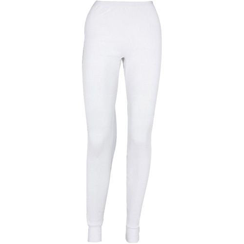 Indera Women's Icetex Cotton/Hydropur Pant (White / X-Large)