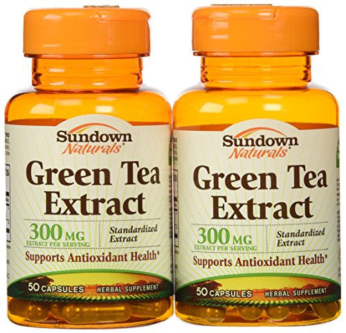 SD Green Tea Extract (Standardized) 300 mg. 50 Capsules