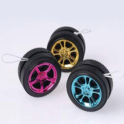 DESIGNER WHEEL YO-YOS - 12pcs
