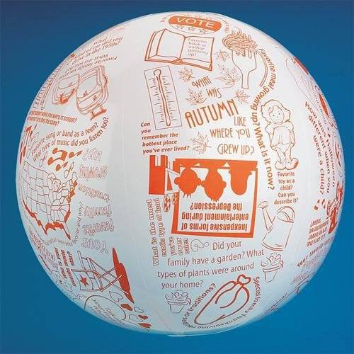 Toss 'n Talk-About Reminiscing Ball, 24-Inch