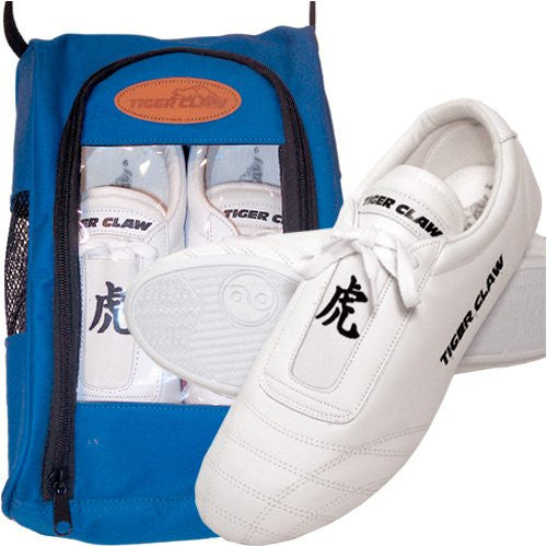 White Martial Art Shoes Size 5H
