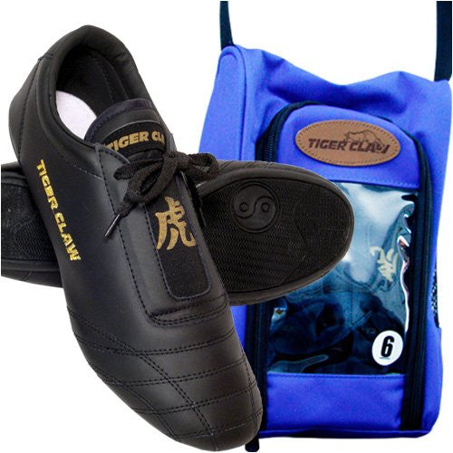 Black Martial Art Shoes Size 3