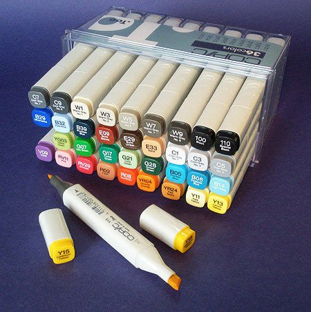 Copic 36pc Color Set