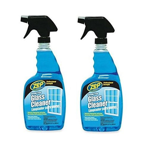 Zep Glass Cleaner RTU 32 oz (streak free)