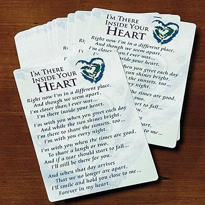 Inside Your Heart Prayer Cards