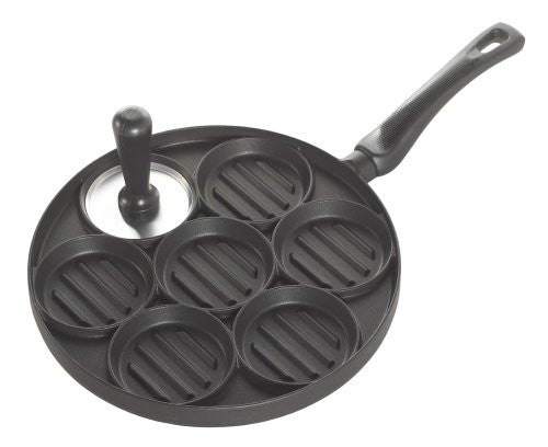 ALL AMERICAN BURGER BITES GRILL PAN